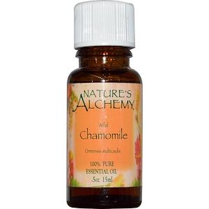 Натурес Алкеми, Essential Oil, Wild Chamomile, 0.5 oz (15 ml) отзывы