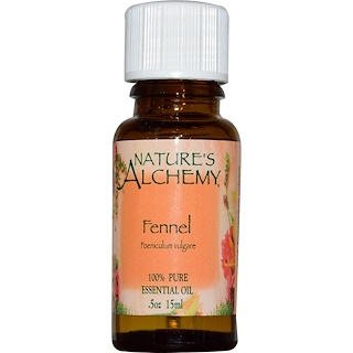 Nature's Alchemy, Essential Oil, Fennel, 0.5 oz (15 ml)