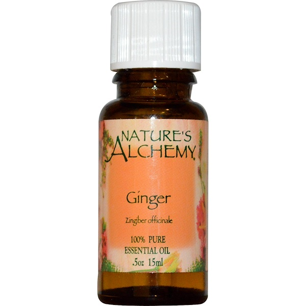 Nature's Alchemy, Essential Oil, Ginger, 0.5 oz (15 ml) (Discontinued Item)