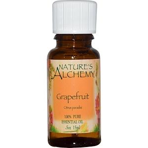 Натурес Алкеми, Grapefruit, Essential Oil, 0.5 oz (15 ml) отзывы