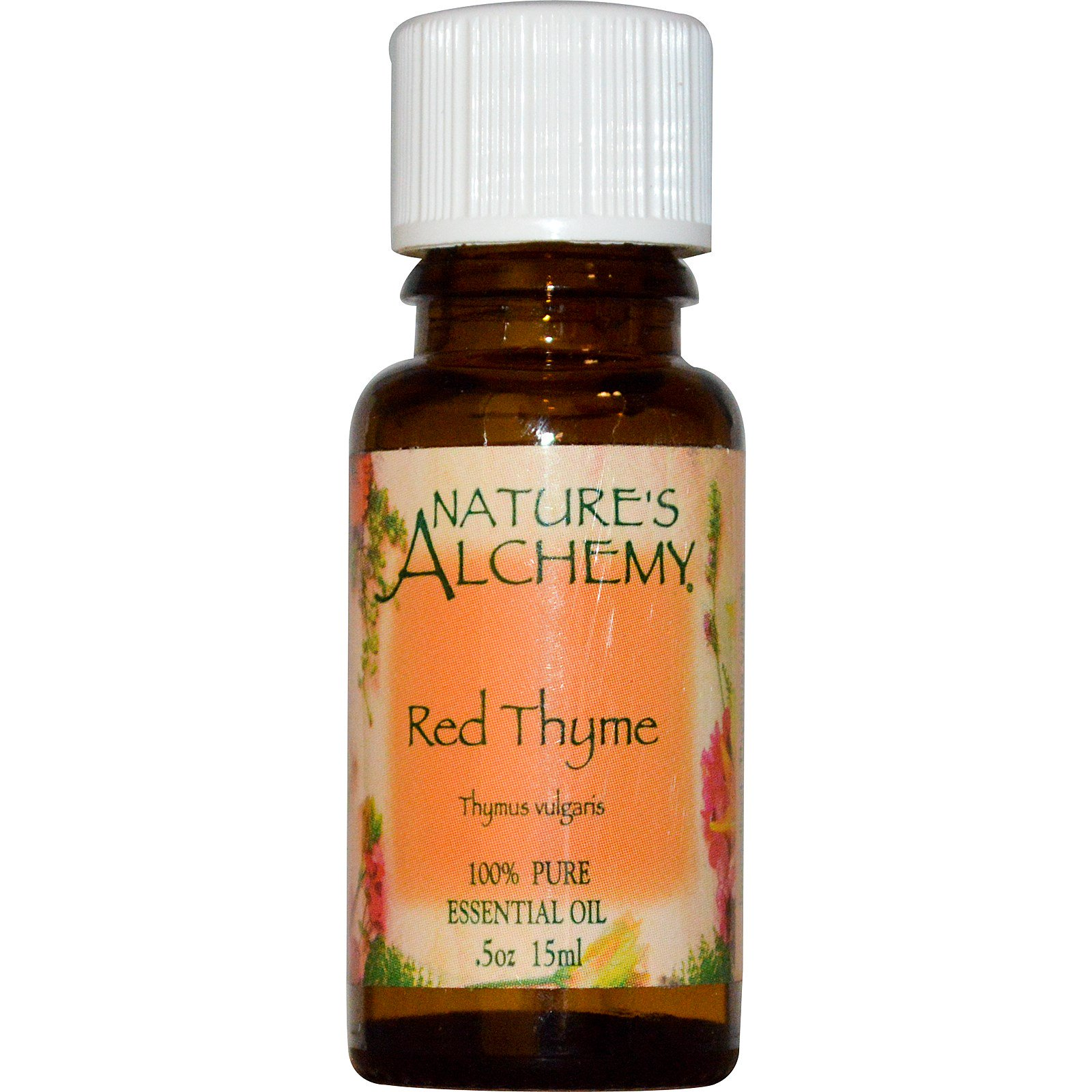 Aceite Esencial Tomillo 0.5 Fl Oz thymus Vulgaris Rojo