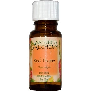 Nature's Alchemy, Red Thyme, Essential Oil, .5 oz (15 ml)