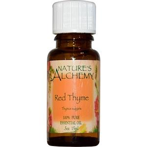 Натурес Алкеми, Red Thyme, Essential Oil, .5 oz (15 ml) отзывы покупателей