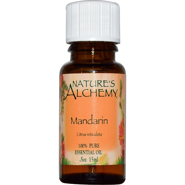 Nature's Alchemy, Essential Oil, Mandarin, 0.5 oz (15 ml) (Discontinued Item)