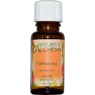 Nature's Alchemy, Palmarosa, Essential Oil, .5 oz (15 ml)