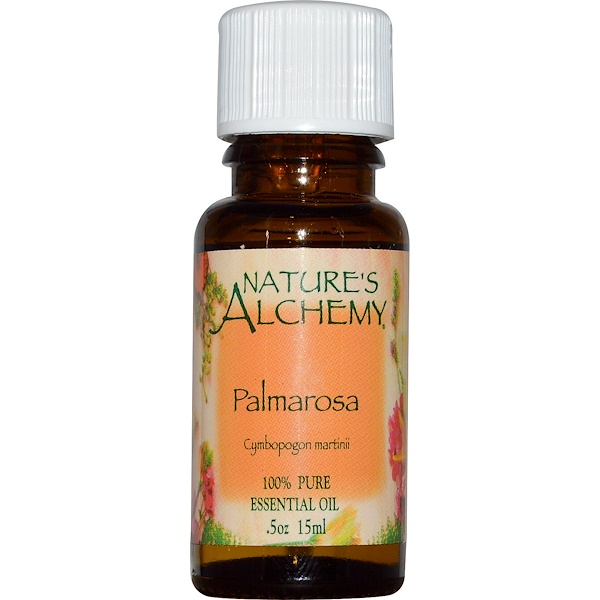 Nature's Alchemy, Palmarosa, Óleo Essencial, ,5 oz (15 ml) (Discontinued Item)