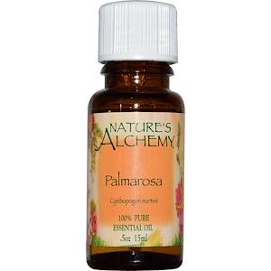 Натурес Алкеми, Palmarosa, Essential Oil, .5 oz (15 ml) отзывы покупателей