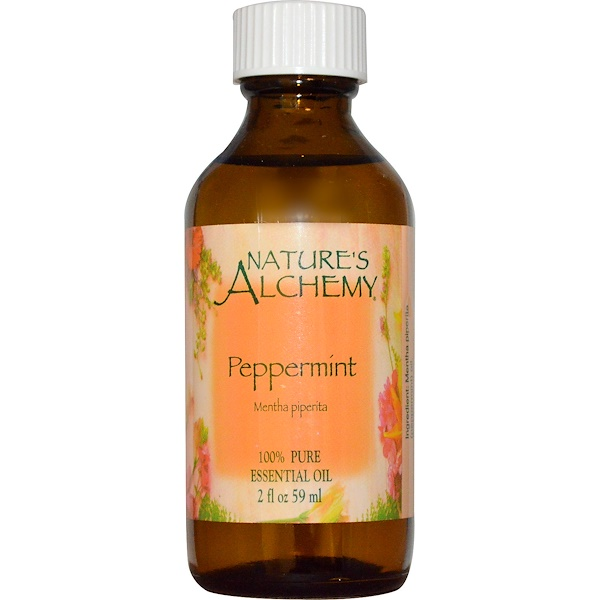 Nature's Alchemy, Peppermint, Essential Oil, 2 fl oz (59 ml) (Discontinued Item)