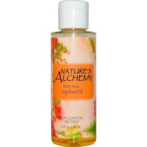 Nature's Alchemy, Jojoba Oil, 4 fl oz (118 ml) (Discontinued Item)