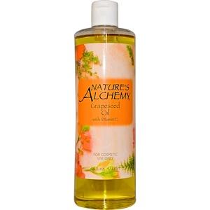 Натурес Алкеми, Grapeseed Oil with Vitamin E, 16 fl oz (473 ml) отзывы покупателей