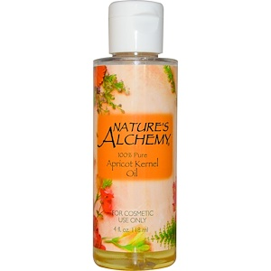 Натурес Алкеми, Apricot Kernel Oil, 4 fl oz (118 ml) отзывы
