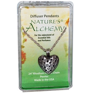 Натурес Алкеми, Heart Necklace, Diffuser Pendants, 1 Pendant отзывы