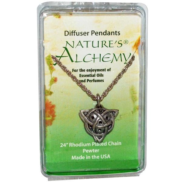 Nature's Alchemy, Celtic Necklace, Diffuser Pendant, 1 Pendant (Discontinued Item)
