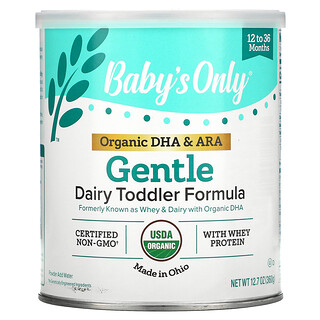 Nature's One, Dairy Toddler Formula, Gentle, 12 to 36 Months, 12.7 oz (360 g)
