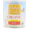 Nature's One, Baby's Only Organic, Toddler Formula, Soy, 12.7 oz (360 g)