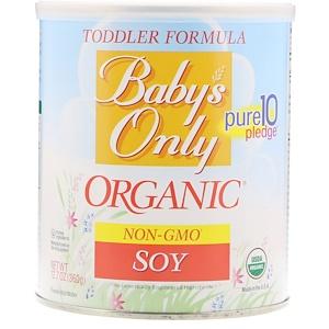 Нэйчерс ван, Baby's Only Organic, Toddler Formula, Soy, 12.7 oz (360 g) отзывы покупателей