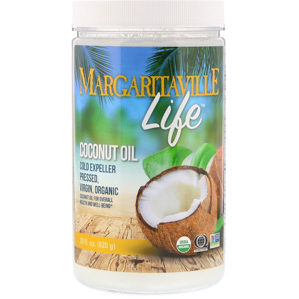Nature's Plus, Margaritaville Life, Coconut Oil, 30 fl oz (820 g)