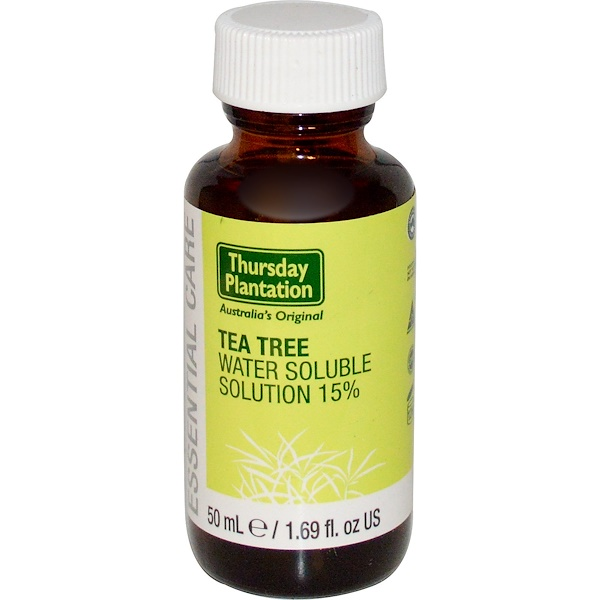 Nature's Plus, Thursday Plantation, Tea Tree Water Soluble Solution 15%, 1.69 fl oz (50 ml) (Discontinued Item)
