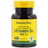 Nature's Plus, Vitamin D3, 400 IU, 90 Tablets
