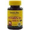 Nature's Plus, Vitamin D3, 1000 IU, 180 Softgels