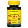 Nature's Plus, 비타민D3, 125mcg(5,000IU), 소프트젤 60정