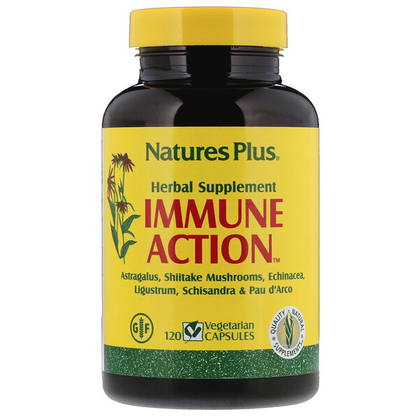 Nature's Plus, Immune Action, 120 Vegetarian Capsules
