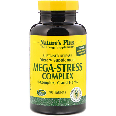 Mega-Stress Complex (Мегакомплекс «Антистресс»), 90 таблеток