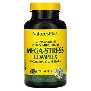 Nature's Plus, Mega-Stress-Komplex, 90 Tabletten