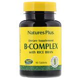 Отзывы о Nature's Plus, Комплекс витаминов B с рисовыми отрубями, 90 таблеток