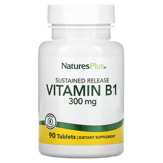 Nature's Plus, витаминВ1, 300мг, 90таблеток