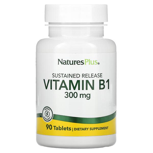 Vitamin B1, 300 mg, 90 Tablets