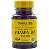 Nature's Plus, Vitamin B-2, 250 mg, 60 Tablets
