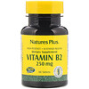 Nature's Plus, Vitamin B-2, 250 mg, 60 Tablets
