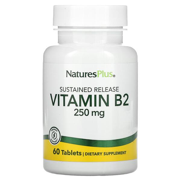 Vitamin B2, 250 mg, 60 Tablets
