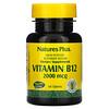 Nature's Plus, Vitamin B-12, 2000 mcg, 60 Tablets