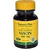 Nature's Plus, Niacin, 100 mg, 90 Tablets