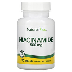 Nature's Plus, 煙醯胺,500 毫克,90 片