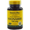 Nature's Plus, Niacinamide, 500 mg, 90 Tablets