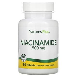 Nature's Plus, Niacinamide, 500 mg, 90 Tablets