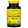 Nature's Plus, Niacinamida, 1000mg, 90comprimidos