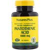 Nature's Plus, Pantothenic Acid, 1000 mg, 60 Tablets