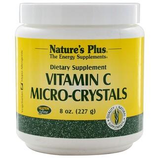 Nature's Plus, Микрокристаллы витамина С, 8 унций (227 г)