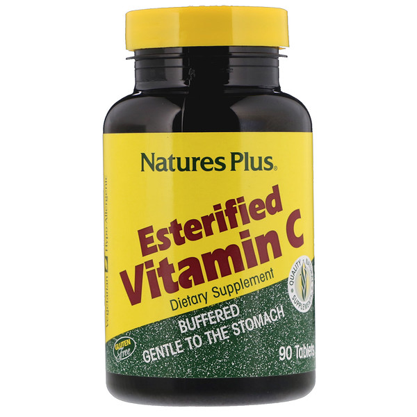 Nature's Plus, Esterified Vitamin C, 90 Tablets (Discontinued Item)