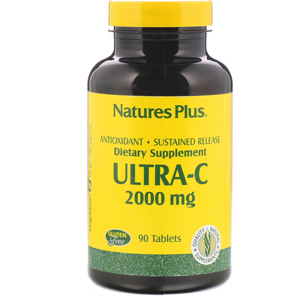 Nature's Plus, Ultra-C, 2,000 mg, 90 Tablets