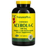 Thompson, أقراص فيتامين سي C500 mg للمضغ، بنكهة البرتقال الطبيعية، 60 قرص مضغيّ - iHerb