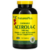 Nature's Plus, Chewable Acerola-C, Vitamin C with Bioflavonoids, 500 mg, 150 Tablets