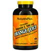 Nature's Plus, Orange Juice, Chewable Vitamin C, 500 mg, 180 Tablets