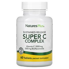 Nature's Plus, 超級 C 複合物,60 片