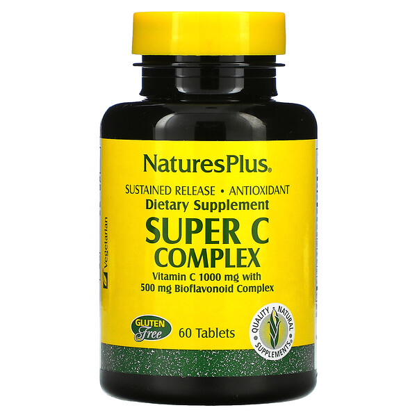 Super C Complex, 60 Tablets