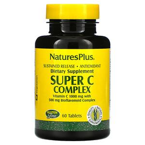 Nature's Plus, Super C Complex, 60 Tablets
